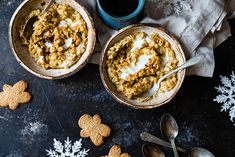 Gingerbread High Protein Oatmeal