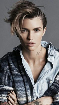 Ruby Rose | Tomboy Style | Boyish Style | Androgynous Fashion | Personal Style Online | Fashion For Working Moms & Mompreneurs