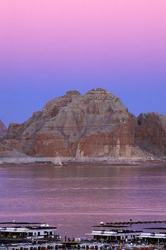 #Castle Rock at Lake Powell - one of our fav places to vacation every #summer