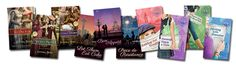 Learn a bit about my published novels.  http://novelcoaching.com/my-story/
