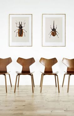 The Grand Prix Chair by Arne Jacobsen -  by Mads Hagedom-Olsen and Anders Morell Hagen