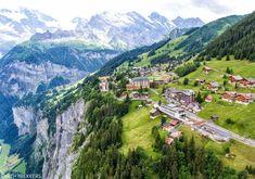 Time Travel, Places To Travel, Murren Switzerland, Swiss Travel Pass, Stuff To Do, Things To Do, Jungfraujoch, Lake Thun, Alpine Lake