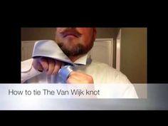 How to tie The Van Wijk Knot