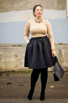 #LOOK-Ideas de #outfits para #Navidad/ Christmas outfits! #Curvy