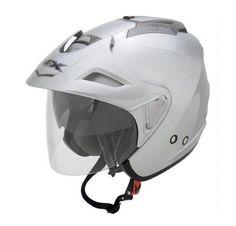 AFX FX-50 Unisex-Adult Open-Face-Helmet-Style Helmet (Sil... https://www.amazon.com/dp/B00GLSFUQE/ref=cm_sw_r_pi_dp_U_x_hyiLAbRJAK814