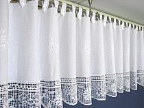 piękne okna na Stylowi.pl Kitchen Curtains, Window Curtains, Crochet Curtains, Modern Crochet, Blinds For Windows, Interior Design Tips, Chrochet, Window Coverings, Plant Decor