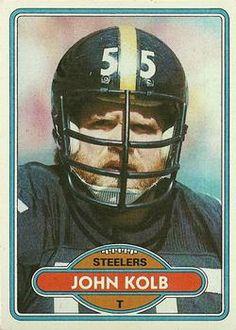 6d2c63e11a4 1980 Topps #436 Jon Kolb Front Steelers Football, Football Cards, Pittsburgh  Steelers,