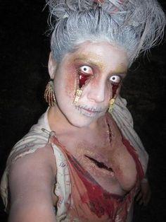 Zipper Eyes Zombie