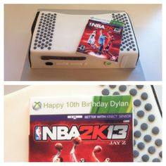 Xbox Cake & Personalized Game