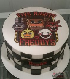 Five Nights at Freddy's cake