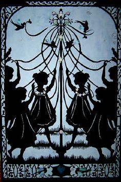 Maypole....would make a beautiful garden gate