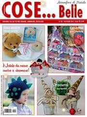 Cose... Belle n°104 Novembre 2014 [cosebelle_1114] - Cose Belle by Maryline, riviste di ricamo e materiali per la tua creatività