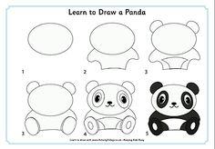 kako nacrtati pandu2