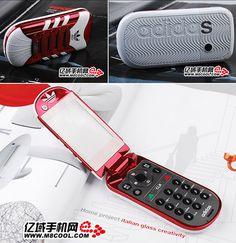 Adidas shoe phone