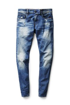 Back to School Mens Jeans: G-Star Raws slim-fit cotton jeans/ [Photo: Courtesy] - Men Jeans - Ideas of Men Jeans Best Mens Fashion, Mens Fashion Shoes, Jeans Fashion, Fashion Outfits, Denim Jeans Men, Boys Jeans, Teen Boy Fashion, Bermuda, Vintage Denim
