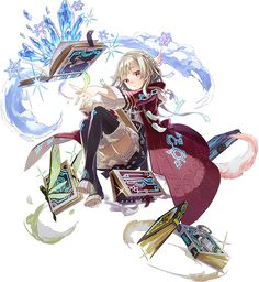 index character design magic witch