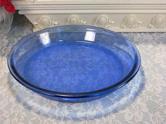 Vintage Anchor Hocking Cobalt Blue Glass Cryst by havetohaveit