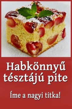 Hungarian Desserts, Hungarian Cake, Soup Recipes, Cookie Recipes, Dessert Recipes, Food 52, Sweet Desserts, Cakes And More, Other Recipes