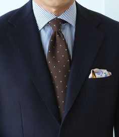 Never been a fan of poka dot ties, but the whole suit goes pretty sharp together