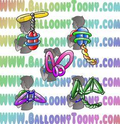 Balloon Toys, Balloon Crafts, Balloon Animals, Balloon Decorations, Balloon Ideas, Create Flyers, Masquerade Party, Masquerade Masks, Football Themes