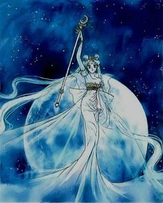 Neo Queen Serenity from Sailor Moon. I'd dearly love a tattoo of this.