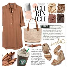 """""""Cinnamon - Top Set for 27.05.16"""" by tanjakr ❤ liked on Polyvore featuring United by Blue, Stuart Weitzman, Illamasqua, Butter London, Clayton, Christian Dior, Lanvin, outfit, casualoutfit and brown"""