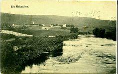 Fra Hakedalen Hakadal i Nittedal kommune Akershus fylke brukt 1910 River, Outdoor, Outdoors, Outdoor Living, Garden, Rivers