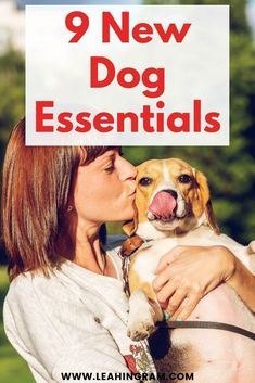 This blog post on new dog essentials provides a checklist of products and ideas on what to buy for a new dog or puppy. It doesn't matter if you rescued your pup from a shelter or bought it from a breeder. This is everything you need to know, buy and have on hand. Join A Gym, Dog Nails, Dog Rooms, Two Dogs, Free Dogs, Girl And Dog, New Puppy, Dog Owners, Rescue Dogs
