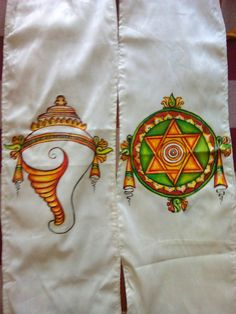 Dress Painting, T Shirt Painting, Fabric Painting, Fabric Art, Saree Painting Designs, Fabric Paint Designs, Kerala Mural Painting, Tanjore Painting, Hand Painted Sarees