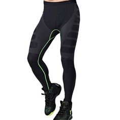 8f0839d676 Man Sports Yoga Pants Elastic Tights Fitness Running Trousers – Trendee  Wares Mens Compression Pants,