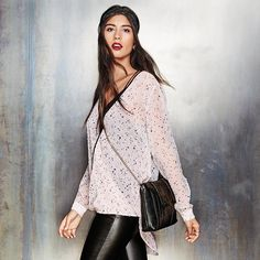 mark. Star Crossed Top, Double Duty Headband, and Well Chained Handbag | Avon #fashion #winterstyle #looksthatrock
