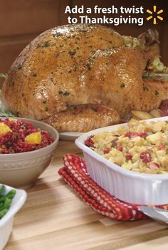 Every Thanksgiving meal needs turkey, gravy and veggies. You can make your own versions of these Thanksgiving staples on any budget. Find quick & easy ways to spice up traditional holiday food with simple fresh additions. Add jalapeno slices to cranberry sauce for a personal touch that's as tasty as it is bold. Or make a vegetable gravy instead of relying on turkey this year. Learn how a few unique twists to traditional recipes will make your meal savory or sweet. Get more tips for…