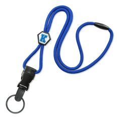 Available in 5 days! Comfortable custom lanyards feature a soft round braided cord with a diamond-shaped adjustable slider. Price includes a custom slider label that can be imprinted in any PMS color. Add a clear dome for an additional charge. Safety breakaway (see breakaway special terms) and side-release buckle with modular attachments included. Choice of four material colors and four detachable end fittings. These lanyards are printed in the USA.