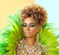 2016 Carnival Makeup | 2016 Carnival Beat by Trinidadian makeup artist Kirk…