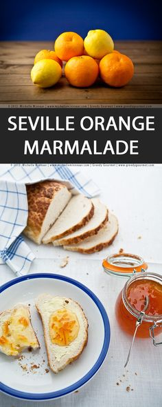 Seville Orange Marmalade - A delicious seville orange marmalde is always a good idea with toast. Perfect if you've got a sweet tooth. Enjoy that tanginess also with scones or pancakes.  #Breakfast #Brunch #DairyFree #English #GlutenFree #Jams #Jellies #LactoseFree #LowFat #LowSodium #Vegan #Vegetarian #WheatFree #sevilleorange #marmalade