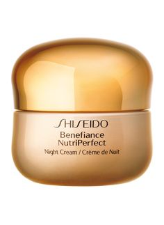 Shiseido Benefiance NutriPerfect Night Cream oz-A high-performance nighttime recovery cream created especially for mature skin experiencing wrinkles, discolorations, and loss of resilience associated with the hormonal changes due to aging- Sephora, Face Care, Skin Care, Facial, Hormonal Changes, Shiseido, Skin Firming, Eyeshadow Makeup, Fragrance