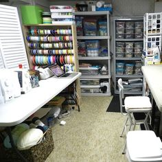 Organizing Craft Supplies in a Small Space