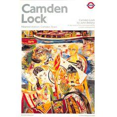 Camden Lock - John Bellany (1990)
