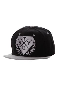 Stick To Your Guns - Diamond Black Grey Snapback - Cap - Stick To Your b041a7312844