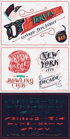 Tervia Family by AgungMaskund #lettering #design #designtool #type