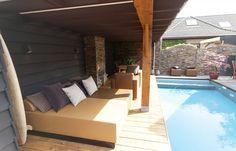 Poolhouse met luxe buitenzwembad | Sportief zwembad te Oud-Beijerland