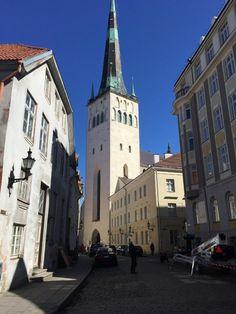 **Oleviste Church (climb the tower for a great view) - Tallinn, Estonia