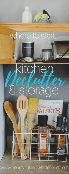 Kitchen Declutter & Storage: Where to Start...