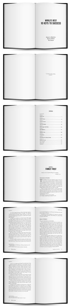 World's Best 10 Keys to Success by James A. Shendal, Steven David & Tye Gnass | Formatting and Layout by Benjamin Carrancho - awesomebooklayout.com Book Layout, Family First, Nonfiction, Childrens Books, Good Books, Keys, David, Success, Amp