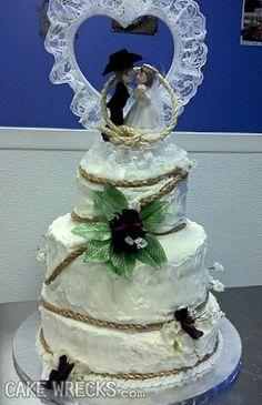 Cake Wrecks - Home - 7 Wedding Wrecks That Make Me Glad I'm AlreadyMarried