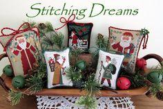 Stitching Dreams - Christmas ornaments