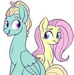 #1171337 - artist:lulubell, family, flutter brutter, fluttershy, safe, siblings, spoiler:s06e11, zephyr breeze - Derpibooru - My Little Pony: Friendship is Magic Imageboard