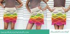 Crochet  Mini Skirt Tutorial | Beautiful Crochet Stuff