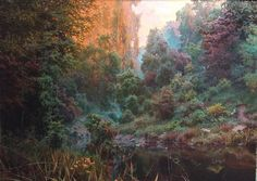 Vadim Sekatski is one of the finest Realist landscape painters of the world. Exclusively represented by Gallery France for Europe. 