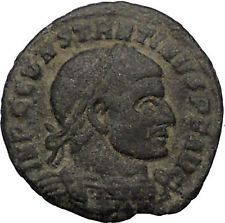 Constantine I The Great 307AD Ancient Roman Coin Ostia mint Rare Sol Sun i56515